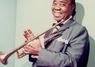 Louis Armstrong publicity photo, mid-1960s