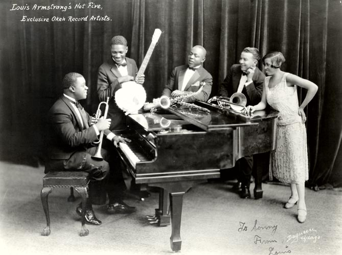 Louis Armstrong and His Hot Five, 1926