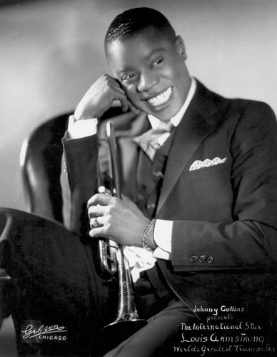 Publicity photo of Louis in Chicago, 1931
