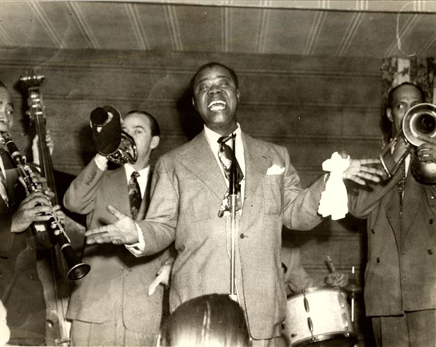 Sitting in with Gene Sedric, Bobby Hackett and Vic Dickinson, early 1950s