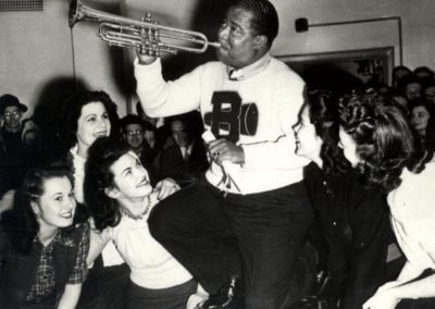 Louis Armstrong at Brooklyn College, early 1940s