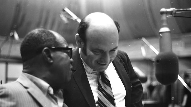 Louis Armstrong & George Wein